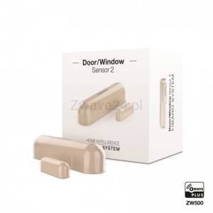 Fibaro Door/Window Sensor 2 (Kremowy)